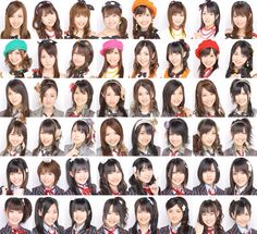 All Akb48 members ♡ are beauties