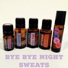 This rollerball blend has changed my life. I stared getting night sweats about 2…