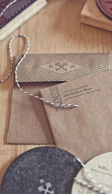 Futurecondensed:Goncharows Coaster Wedding Invites