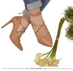 Lace up shoes  #moda #calçados #sandália #shoes #sotd #ecommerce #tendência #trend #loja #look #outfit #lnl #looknowlook