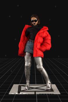Balenciaga Fall 2021 Ready-to-Wear Fashion Show Collection: See the complete Balenciaga Fall 2021 Ready-to-Wear collection. Look 32 Pop Fashion, Winter Fashion, Fashion Show, Mens Fashion, Fashion Trends, Runway Fashion, Fashion Week Paris, Vogue Paris, Age Of Tomorrow