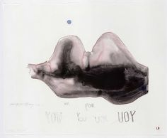 Louise Bourgeois & Tracey Emin Waiting for you, 2009 - 2010 Archival dyes printed on cloth