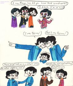 Beatles and Beatles and Beatles by Strabius on DeviantArt