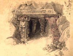 Walt Disney Animation Studios // Snow White & The Seven Dwarves // Visual Development