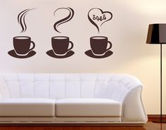 #Wandtattoo Sprüche No.1425 Coffee Cups #kaffee #Genuss #coffee #time