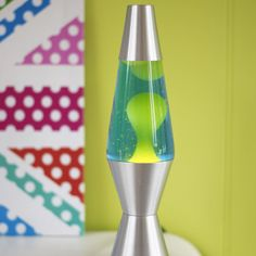 Our daughter is obsessed with our old lava lamp.  A perfect gift for the four year old child.