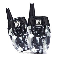 LUITON A7 Walkie Talkies For Kids Toys For Boys And Girls Top Rated Birthday Gifts Children Outdoor Activities Ni-MH Rechargeable Battery Long Range Mini Unisex Two Way Ham Radio FRS(Camo 1 Pair) BUY NOW     $56.99     Enjoy freely running around in the neighborhood,woods,fields while still communicating with each other.  LUITON A7 provide a  ..  http://www.joysforkids.top/2017/03/31/luiton-a7-walkie-talkies-for-kids-toys-for-boys-and-girls-top-rated-birthday-gifts-children-out..
