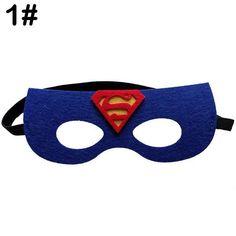 Your day won't be complete without this! Superhero Masks P... http://simplyparisboutique.com/products/superhero-masks-party-costume-for-kids-and-adult-superman-mask-1?utm_campaign=social_autopilot&utm_source=pin&utm_medium=pin