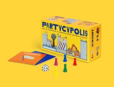 """Check out this @Behance project: """"Partycypolis / BOARD GAME"""" https://www.behance.net/gallery/32977879/Partycypolis-BOARD-GAME"""