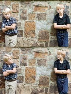 Atlanta GA Family Portrait Photography - brothers