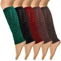 Knit Leg Warmer 6pairs(1pack) 5 Color Assorted - Listing price: $55.00 Now: $34.95