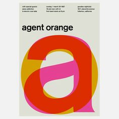 Agent Orange, $35, now featured on Fab.