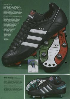 Adidas 1987 Catalogue Page
