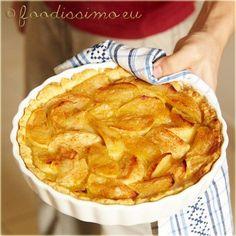 Domáci jablkový koláč