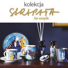 Pod marką Empik Art Unlimited proponujemy Wam unikalne kolekcje produktów, na których znajdziecie prace polskich artystów oraz popkulturalne motywy i cytaty. Dziś przedstawiamy stylowe kobiece akcesoria z obrazami Joanny Sarapaty! Diffuser, Sweet Home, Mugs, Dom, Tableware, Kitchen, Dinnerware, Cooking, House Beautiful