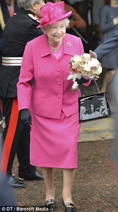 The Queen and Prince Phillip visited the National Theater to mark its 50th anniversary