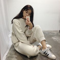girl, adidas, and asian image