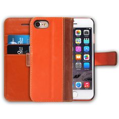 18de444b21c5b7 New Slim Fit Flip Phone Cases for iphone 7 Cover with Card Slot Holder  Premium PU Leather Wallet Case for Apple iPhone 7