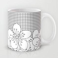 Cherry Blossom Grid - In Memory of Mackenzie Mug