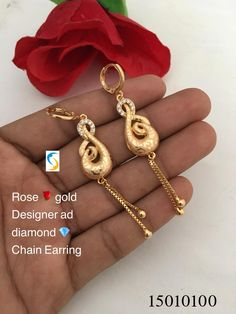 For More eye pleasuring Variety and color information click the link . Indian Jewelry Earrings, Bridal Jewellery, Cute Jewelry, Gold Jewellery, Wedding Jewelry, Gold Ring Designs, Gold Earrings Designs, Jewellery Designs, Gold Pendant