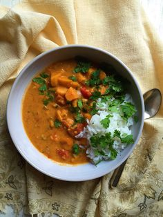 West African Vegetarian Peanut Soup #recipe by Supper With Michelle  #vegan #soup #stew #vegetarian #fall #autumn