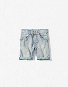 BERMUDAS WITH CONTRASTING HEM - Bermuda shorts - Boy (2-14 years) - Kids - ZARA United States