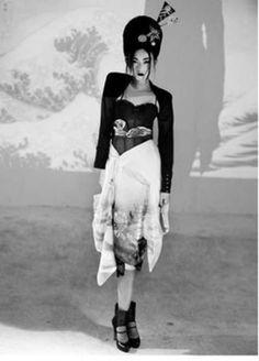 Punk Geisha Photography | Culturally Glamtastic 'Cherry Blossom Girl' by Nicoline Patricia Malina