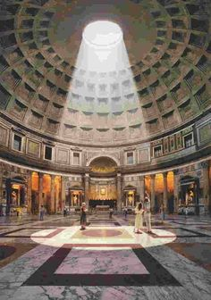 Il fascino del Pantheon. Roma