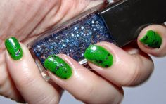 Sally Hansen Triple Shine Sparks Fly over Kelp Out