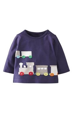 Mini Boden 'Big Appliqué' T-Shirt (Baby Boys) available at #Nordstrom