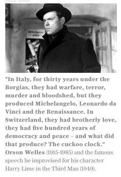 Orson Welles the legend