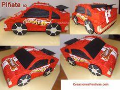 Piñatade Hot well - coche -carro -carts