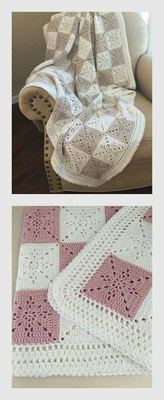 Granny square blanket colour inspiration