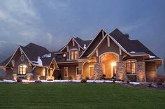 Gorgeous Craftsman Style Home! A little too much going on, on the inside. But it is still beautiful.