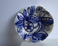 Handpainted Porcelain Ring Dish - Edit Listing - Etsy