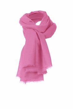 cashmere gauze stole, pink lilac