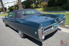 The 1965 Eldorado was a large luxurious Cadillac built in this particular bodystyle for only two years (1965-66) with no primary competition that  could  easily carry six people and had a power top. Description from car-from-uk.com. I searched for this on bing.com/images