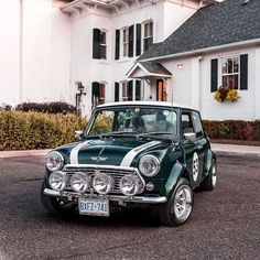Classic Mini Cooper With Ford EcoBoost Swap Is Super Slick - Mini Owners Club Mini Cooper Classic, Classic Mini, Classic Cars, Austin Mini, Mini Copper, Mini Car, Car Racer, Bmw 2002, Minis