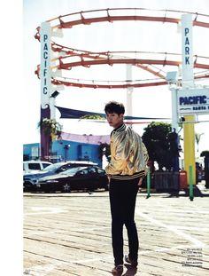 ELLE Takes Park Bo Gum to Los Angeles for First Overseas Photoshoot – Eukybear ♥ Dramas Korean Wave, Korean Star, Jong Suk, Lee Jong, Got7 Got It, Kyun Sang, La Confidential, Lee Bo Young, Moonlight Drawn By Clouds