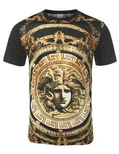 URBANCREWS Mens Hipster Hip Hop Sublimated Graphic Print T-shirt- Various Prints | Amazon.com