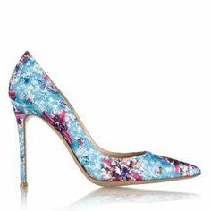 ~Shoe Gaze: Mary Katrantzou's Trompe-L'oeil Pumps...
