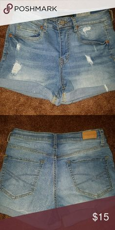 Aeropastale Jean Shorts Like new only worn a couple of times.  They are just to small for me. Aeropostale Shorts