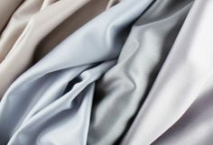 Linton Twill. 100% natural silk/mohair/lambswool. Biodegradable. Manufactured in the UK.