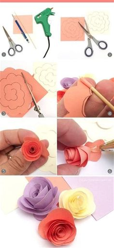 Paper Flowers Diy, Origami, Easy Diy, Cactus, Birthdays, Wraps, Baby Shower, Creative, Wrapping