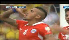 El conjunto chileno metió el primer gol en el minuto 19 del primer tiempo.