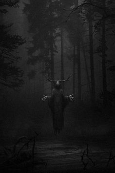 Foto Fantasy, Dark Fantasy Art, Witch Aesthetic, Aesthetic Art, Creepy Images, Satanic Art, Dark Artwork, Arte Obscura, Black Aesthetic Wallpaper