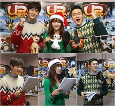 Narsha, Joo Won, and Kim Won Ho release a Christmas carol for 'Niko 2: Little Brother, Big Trouble'. - This is a bit old (from 2012), but still sweet. The video they wound up making is funny, too.