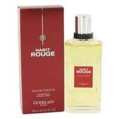 Habit Rouge Cologne / Eau De Toilette Spray By Guerlain