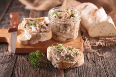 The easiest way to make rillettes is in your slow cooker — The Takeout Pork Recipes, Slow Cooker Recipes, Crockpot Recipes, Cooking Recipes, Cretons Recipe, Hummus, Canadian Dishes, A Food, Food And Drink