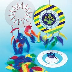 Design a Dreamcatcher Kits with colored Yarn